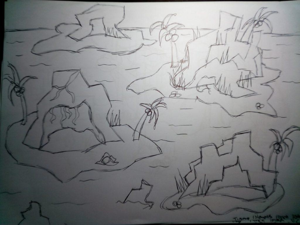 Rainforest Sketches