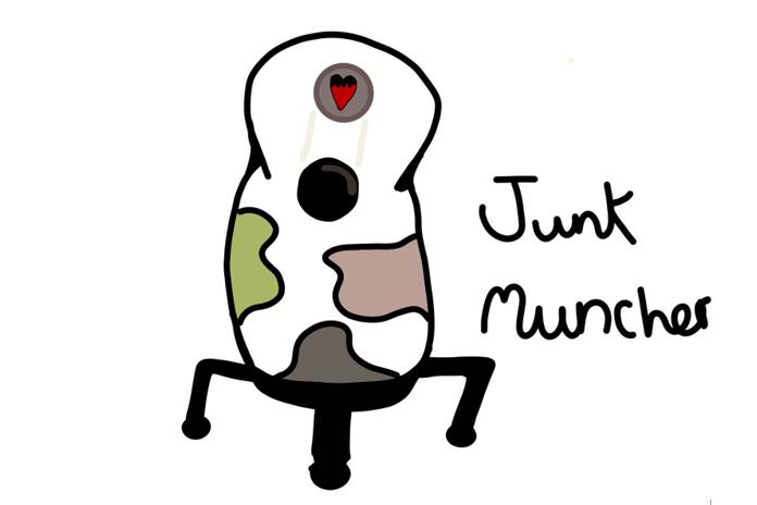 Junk Muncher Design