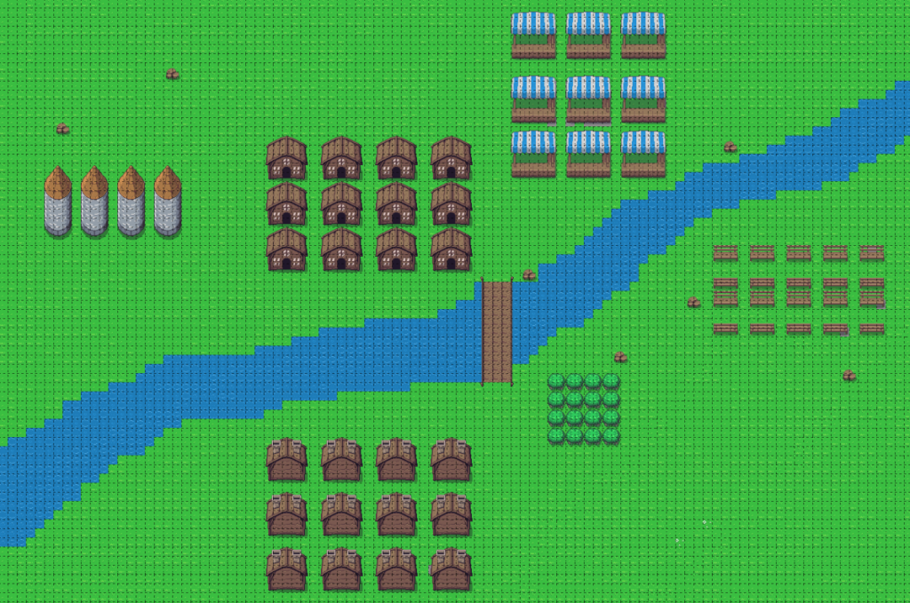 Tiled Level Map