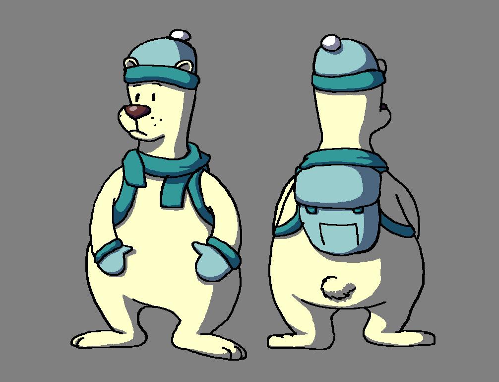 Polar Bear Character Design
