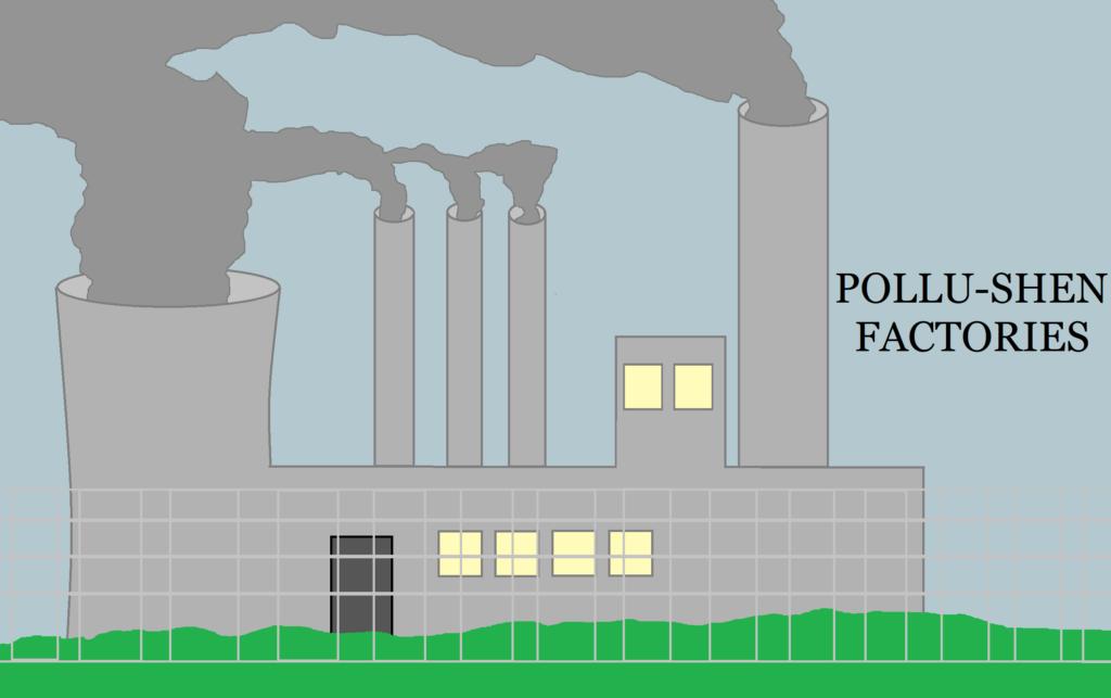 """""""Pollu-Shen"""" Factories"""