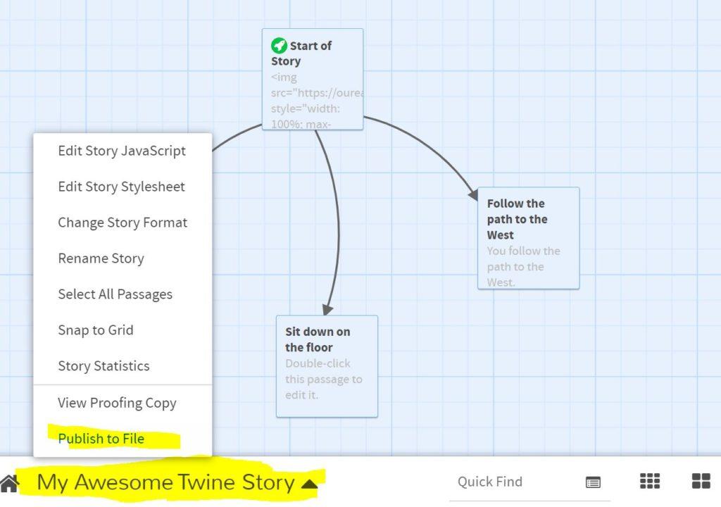 Twine Story