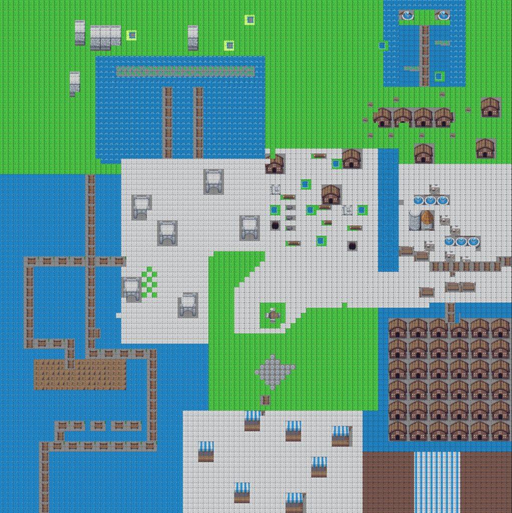 Tiled Map Big Level Design