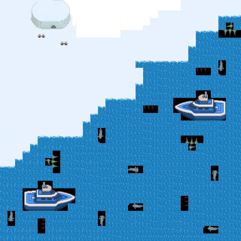 Arctic Level Map
