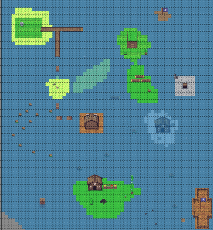 Ocean Level Map
