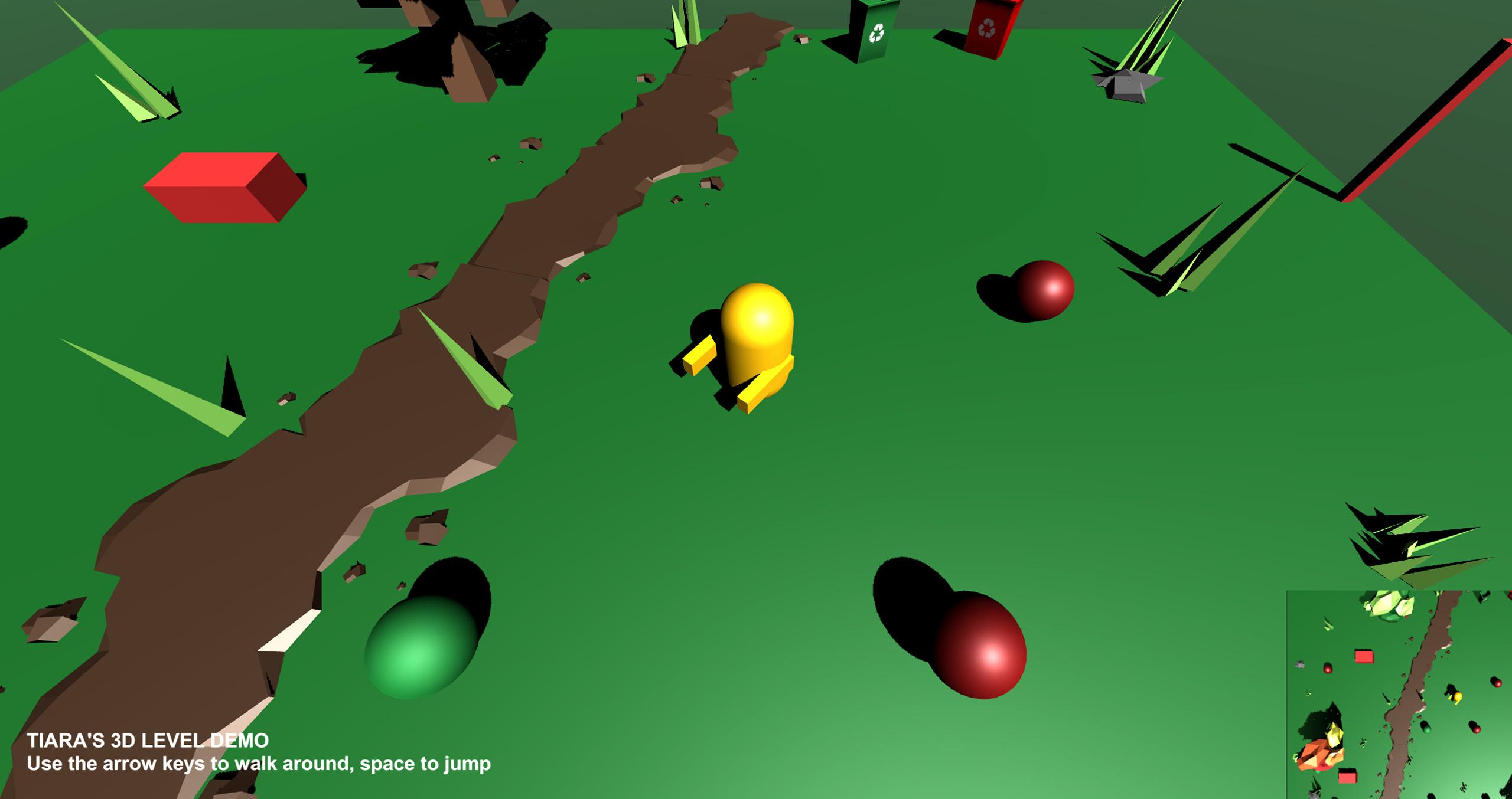 Tiara's 3D Gameworld