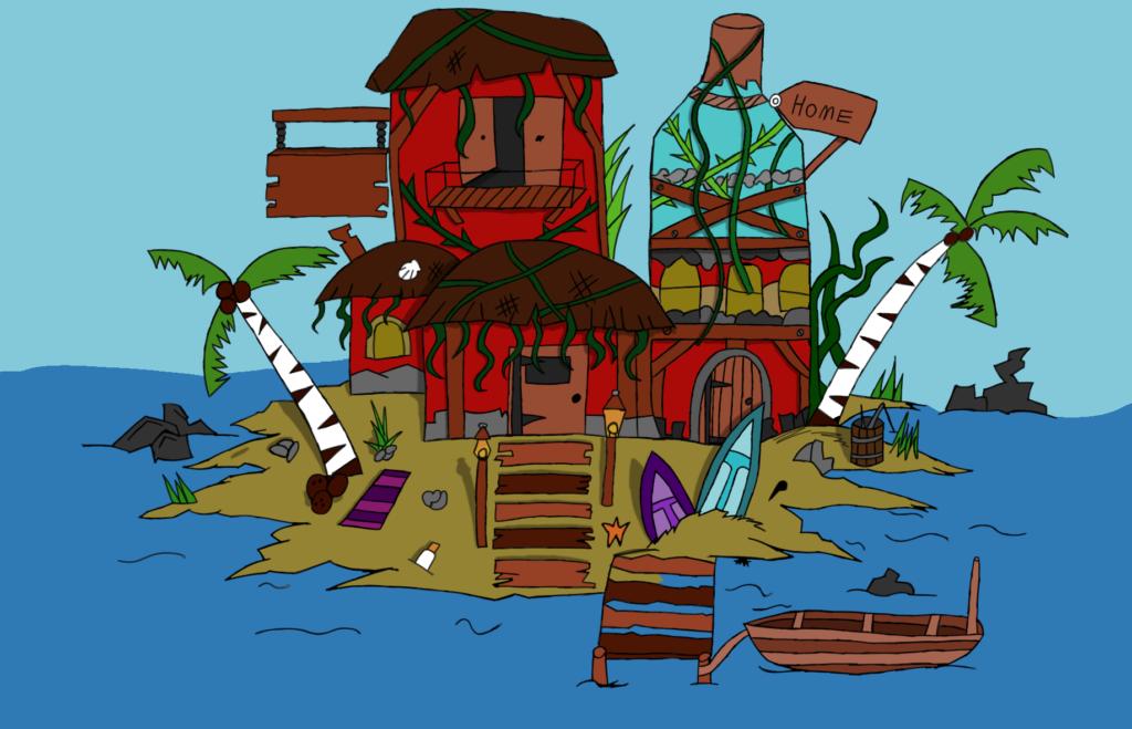 Ocean Level Illustrations